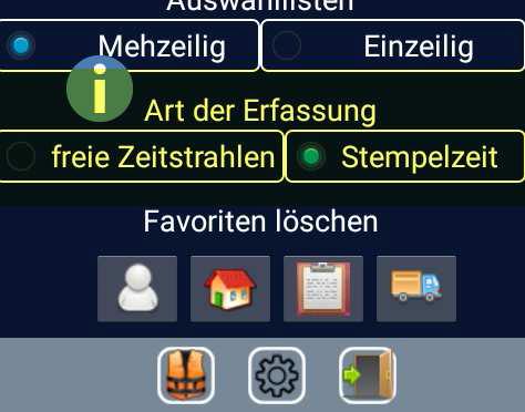 Auftragserfassung – mobil mit Android